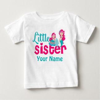 Camisa personalizada sirena de la pequeña hermana