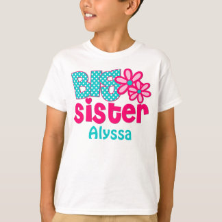 Camisa personalizada trullo del rosa de la hermana