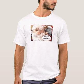 Camisa-personalizar del ratón de Santa Playera