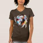 Camisa pintada del potro