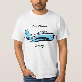 Camisa plana divertida del dibujo animado