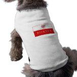 Camisa polaca del perro de Bokser Eagle Ropa De Perros