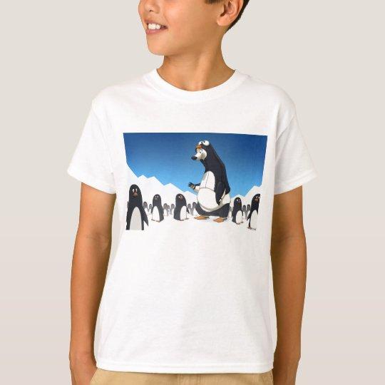Camisa polar del pingüino