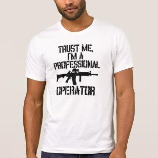 Camisa profesional del operador