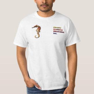 Camisa promocional del Seahorse del cromo