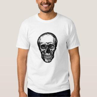 Camisa punky fresca del cráneo de Freakin