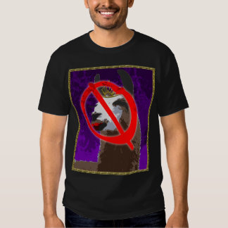 Camisa púrpura de la llama del drama - Anti-Drama
