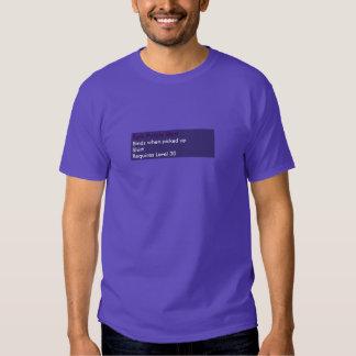 Camisa púrpura épica