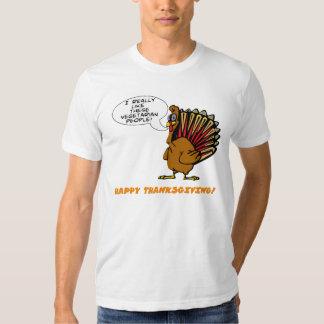 Camisa que habla de Turquía del dibujo animado
