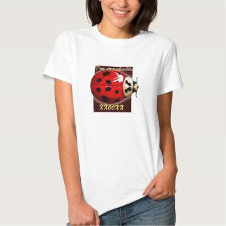 Camisa rastreable del insecto del viaje