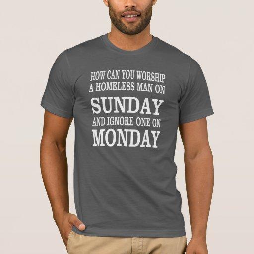 Camisa religiosa con una buena pregunta