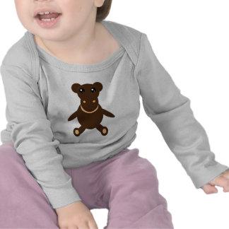 Camisa rellena del juguete del mono