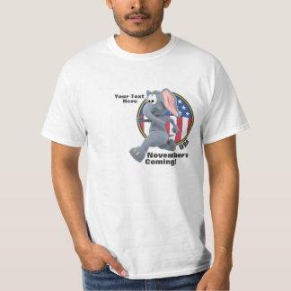 Camisa republicana anti de las rayas de las