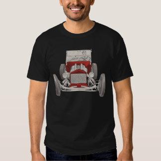 Camisa retra del coche de carreras del vintage