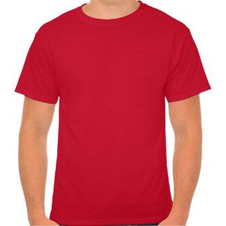 Camisa retra roja del smoking
