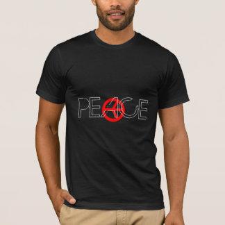 Camisa roja de la paz
