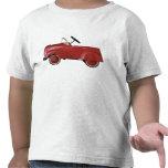Camisa roja del coche del vintage