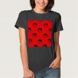camisa roja del kahlo del frida
