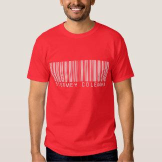 Camisa roja del logotipo de Stormey Coleman