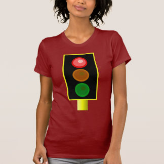 Camisa roja para mujer del semáforo
