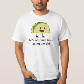 Camisa rolliza del Taco
