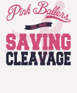 Camisa rosada de las señoras de Ballers