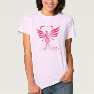 Camisa rosada del cáncer de pecho de Pheonix de la