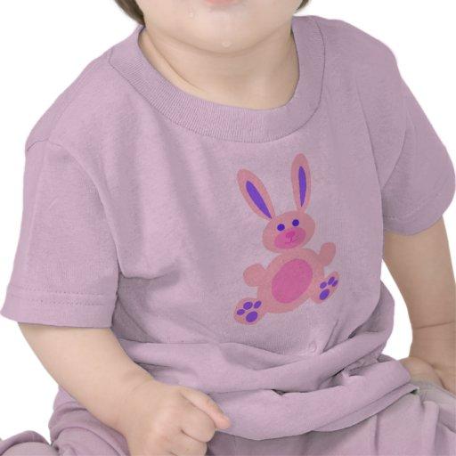 Camisa rosada del conejito