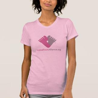 Camisa ROSADA del Dos-fer del logotipo de