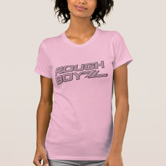 Camisa rosada del viaje de la barra de la