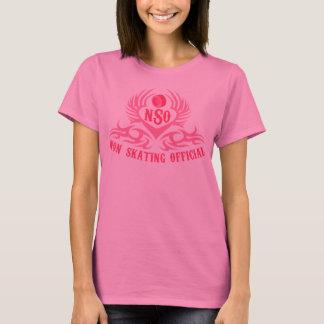 Camisa {rosada} oficial No-Patinadora