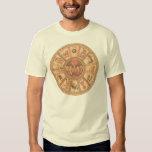 Camisa: Rueda hebrea israelí del zodiaco Playera