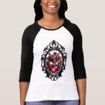 camisa sagrada grande del marco del corazón