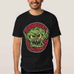 Camisa salvaje del logotipo de los monstruos