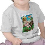 Camisa salvaje del niño de la belleza