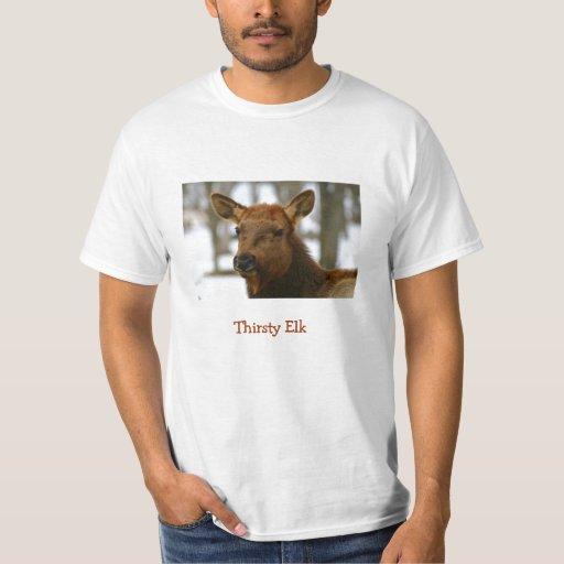 Camisa sedienta de los alces