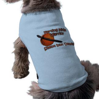 Camisa silenciosa pero mortal del guerrero Farting Playera Sin Mangas Para Perro