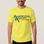 Camisa simple del logotipo del individuo
