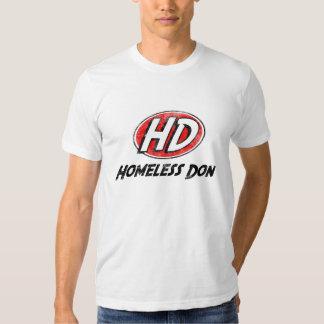 Camisa sin hogar de Don