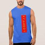 camisa sin mangas #famboy