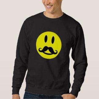Camisa sonriente del bigote - elija el estilo,