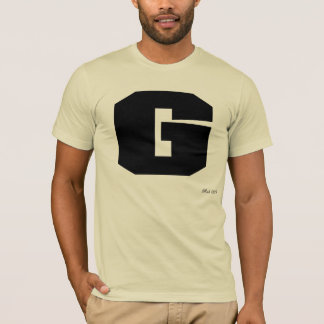 Camisa superior 009 de los hombres de G