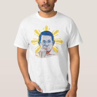 Camisa temática de Ninoy de la bandera filipina
