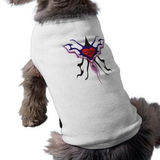 Camisa tribal del perro del muchacho de PawsID Mom Playera Sin Mangas Para Perro