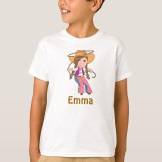 Camisa triguena de la vaquera con nombre