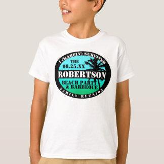 Camisa tropical del superviviente de la reunión de