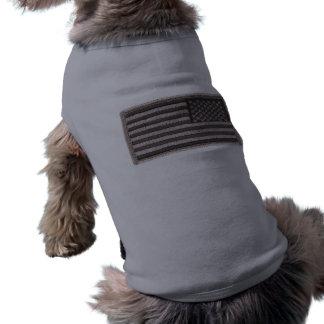 Camisa uniforme del perro de la bandera de los E.E Camiseta De Perro