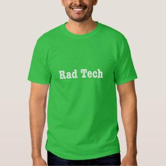 Camisa unisex de la tecnología el   del Rad