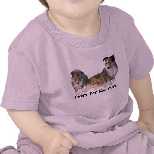 Camisa unisex del niño del cáncer de pecho de