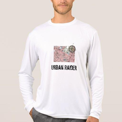 Camisa urbana de Geocaching del asaltante